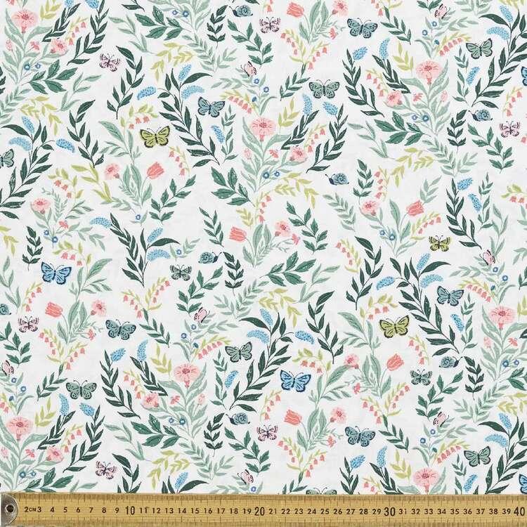 Cloud 9 Perennial Flora Cotton Fabric