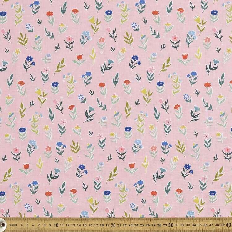 Cloud 9 Perennial Daisy Cotton Fabric