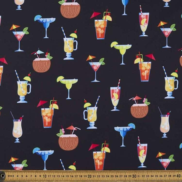 Pina Colada Printed 150 cm Trunks Microfiber Fabric