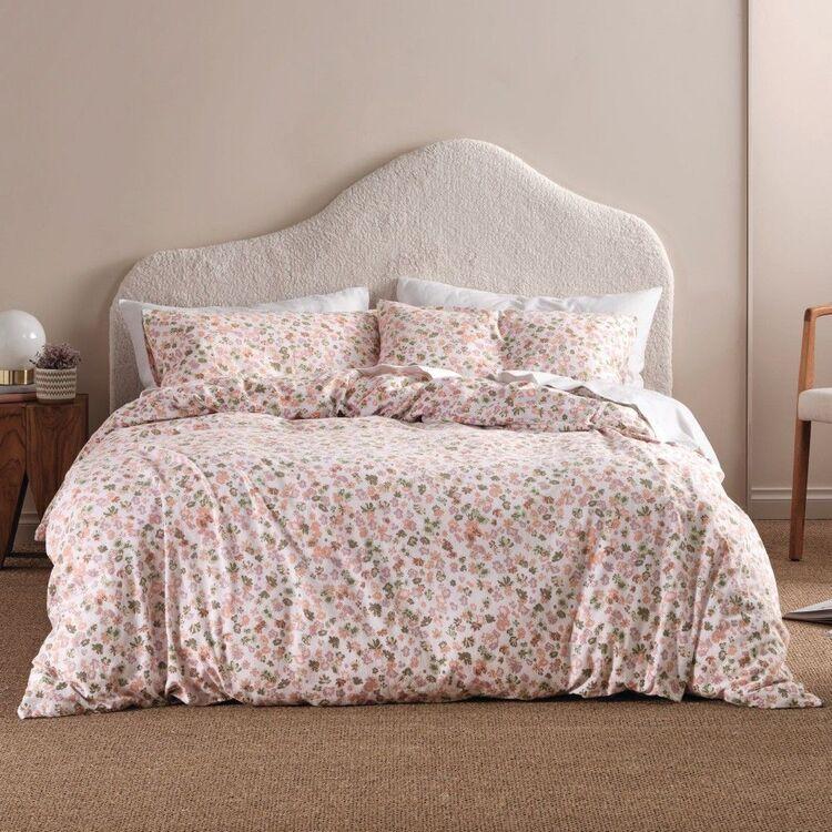 Linen House Flannelette Aubree Quilt Cover Set
