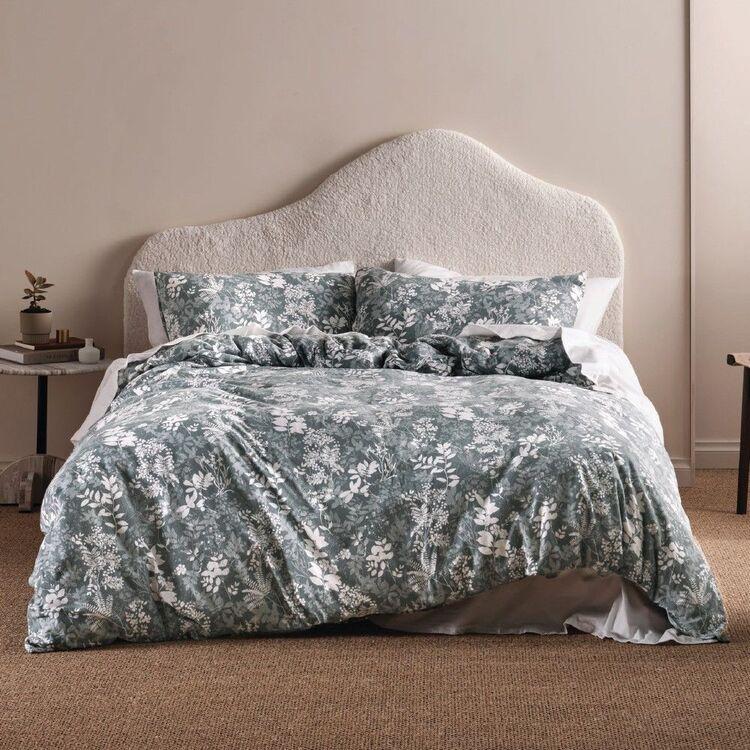 Linen House Flannelette Kimora Quilt Cover Set