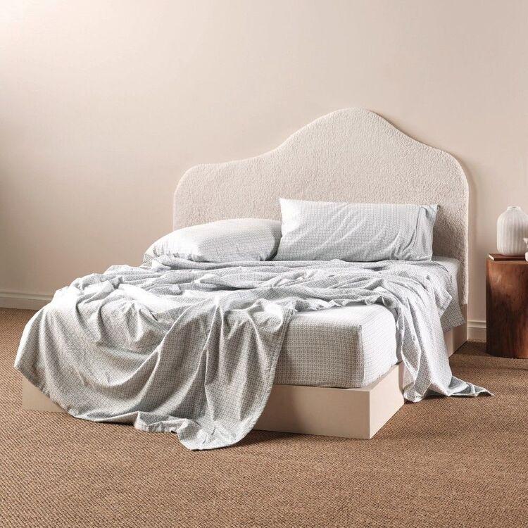 Linen House Flannelette Sadie Sheet Set
