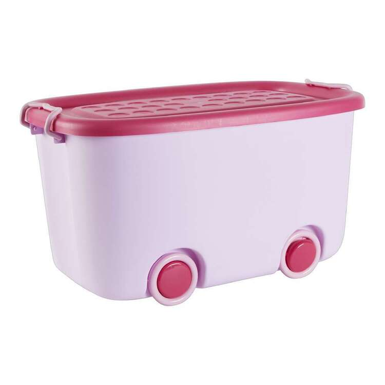 Club House Kids 43L Storage Box with Wheels