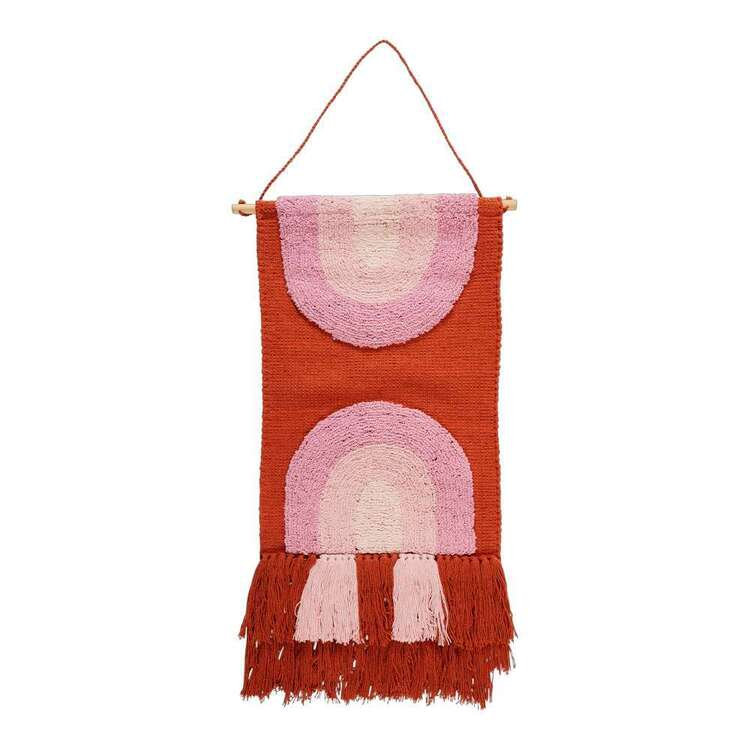Living Space Cocoon Comfort Rainbow Wall Hanging