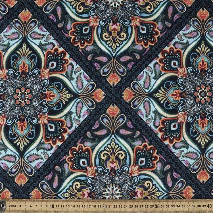 Studio E Blooming Paisley Diamond Cotton Fabric