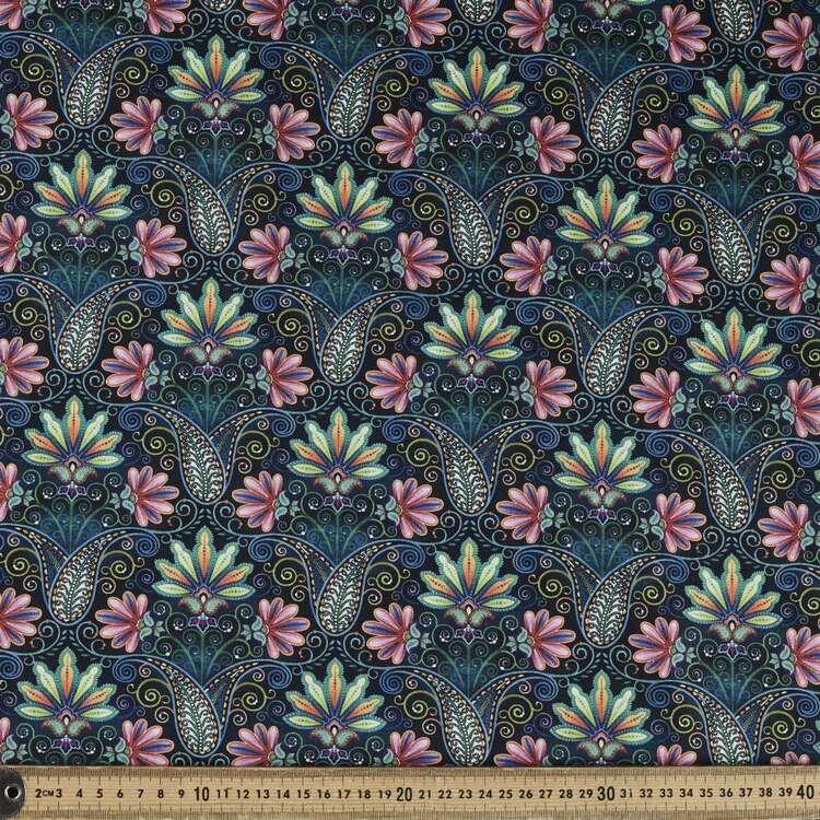 Studio E Blooming Paisley Cotton Fabric