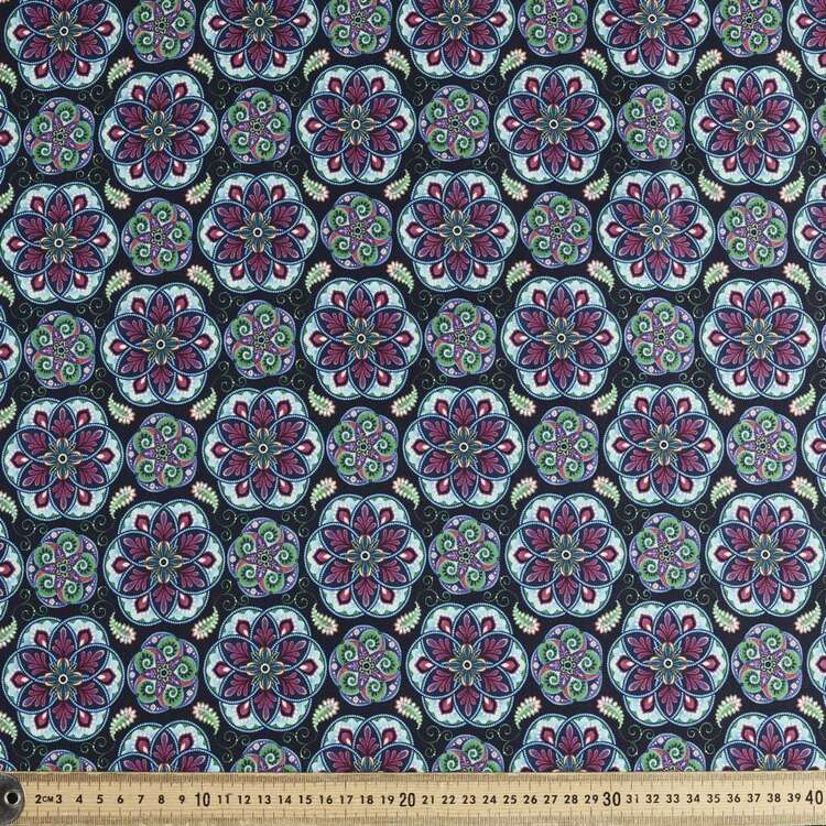 Studio E Blooming Paisley Mini Mandala Cotton Fabric
