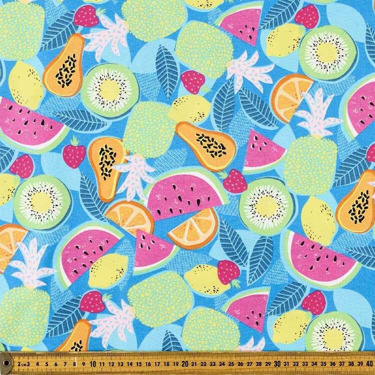 Fruitlicious Fruit Salad Cotton Fabric