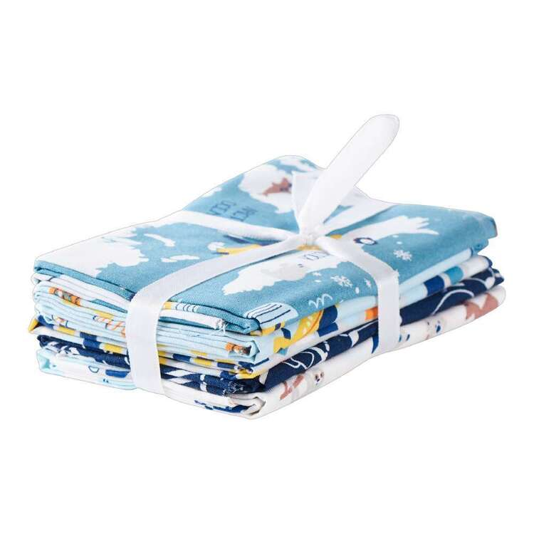 Fly Fly Away Cotton Fat Quarter Bundle 5 Pieces