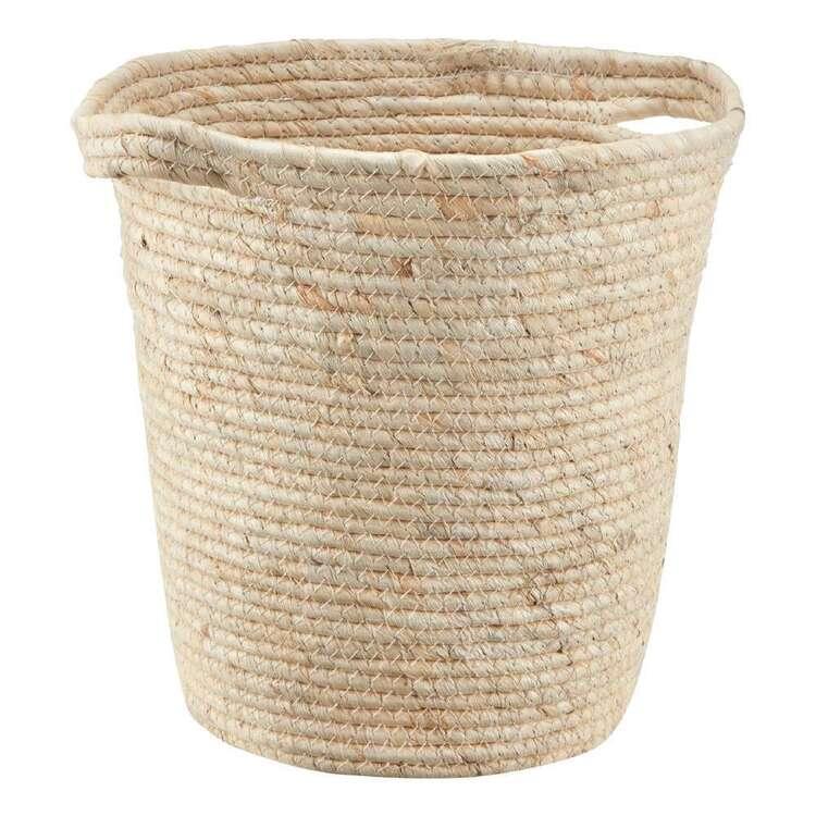Bouclair Contemporary Organic 29 x 30 cm Round Basket