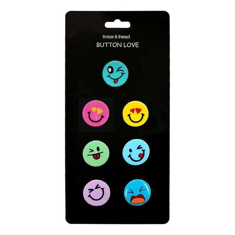 Timber & Thread Emoji Buttons