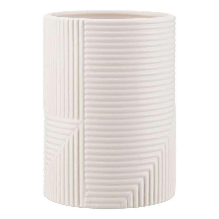 Bouclair Contemporary Organic Textured Ceramic Vase
