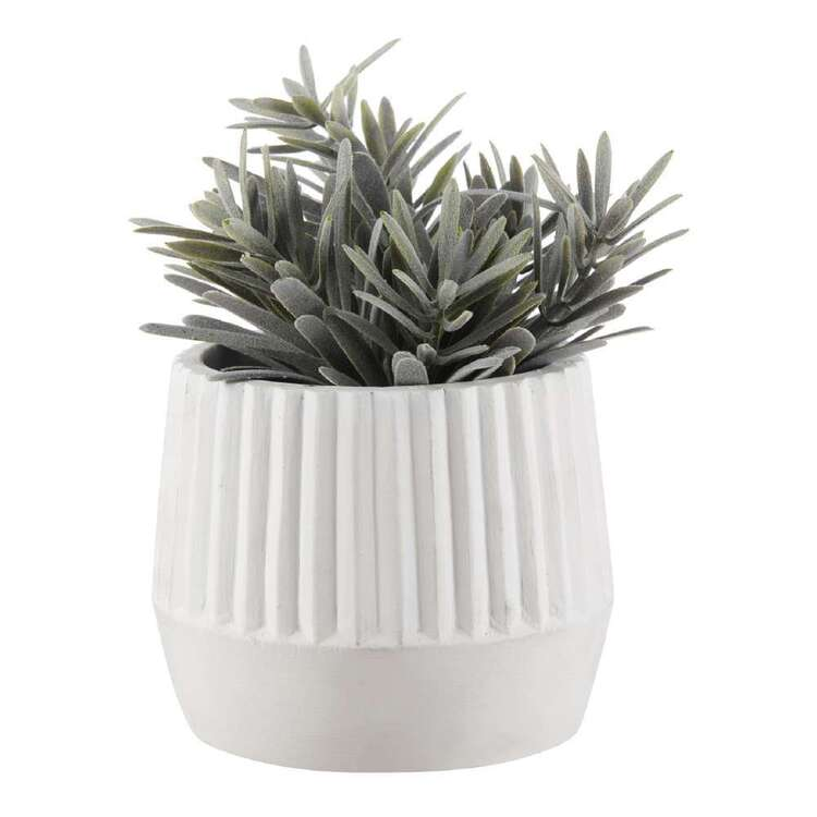 Bouclair Contemporary Organic Artificial Plant In Ceramic Pot