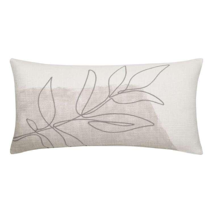 Bouclair Contemporary Organic Kiera Printed Cushion