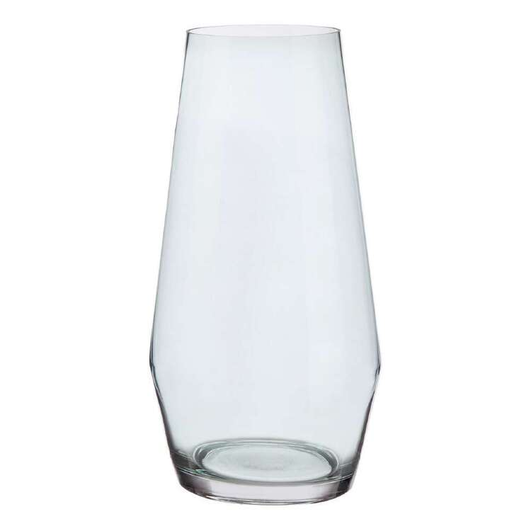 Bouclair Contemporary Organic Angled Glass Vase
