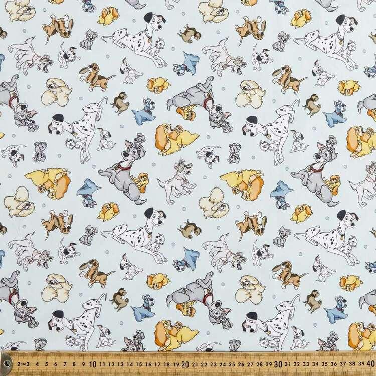 Disney Classics Dogs The Mix Up Cotton Fabric