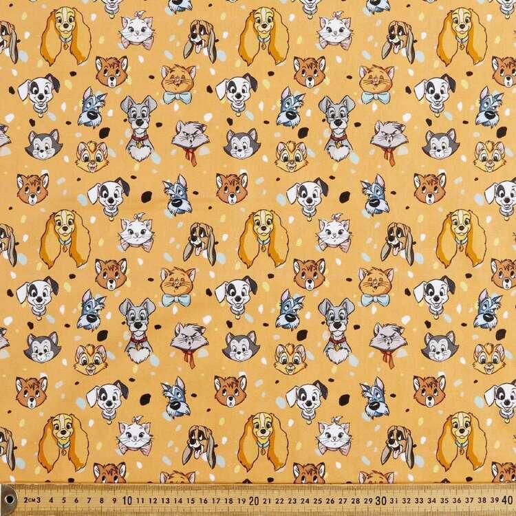 Disney Classics Cats & Dogs Cotton Fabric