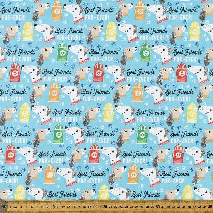 Dog Days Friends Furever Cotton Fabric