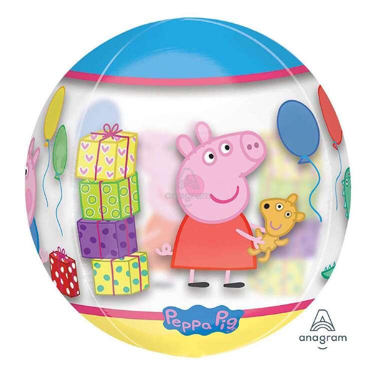 Peppa Pig Clear Orbz Balloon