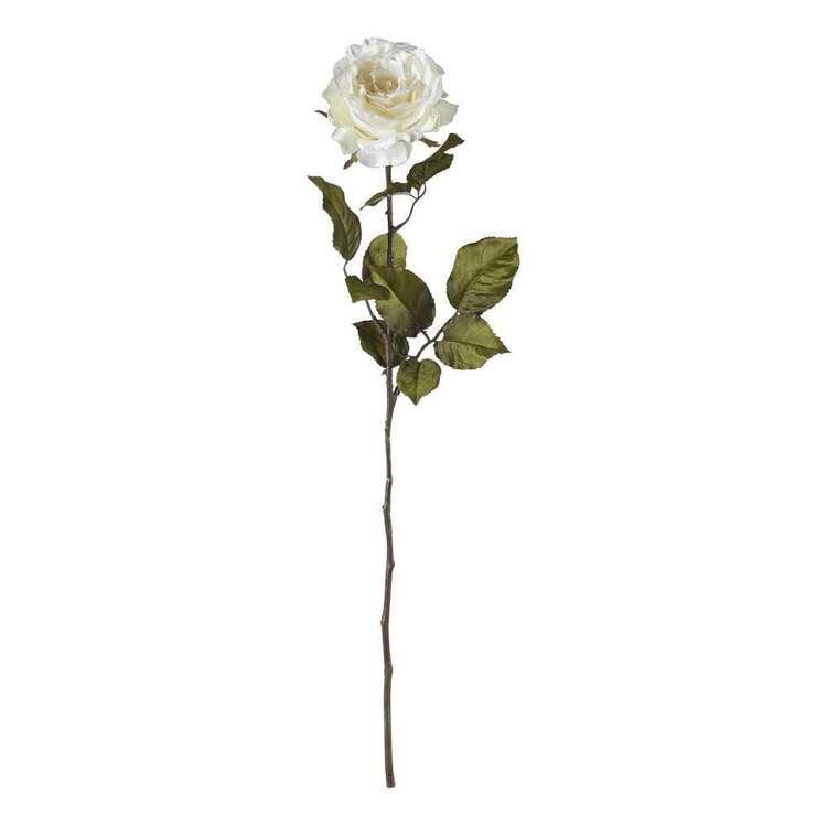 Longstem Rose Spray Glitter