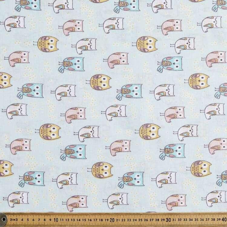 Hooty Owl 120 cm Multipurpose Cotton Fabric