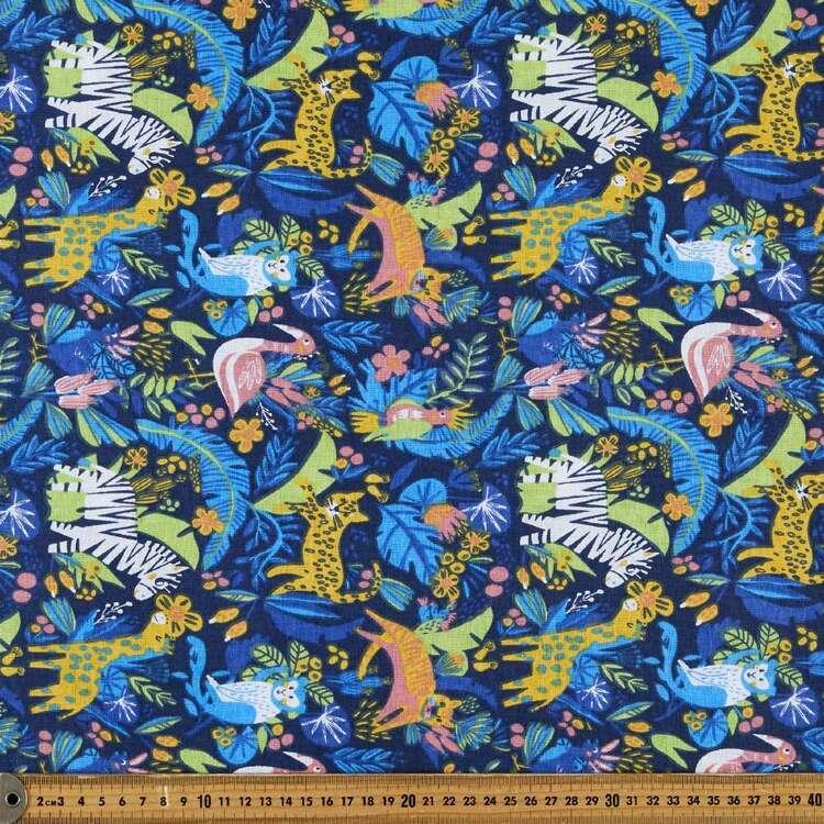 Animalia 120 cm Multipurpose Cotton Fabric