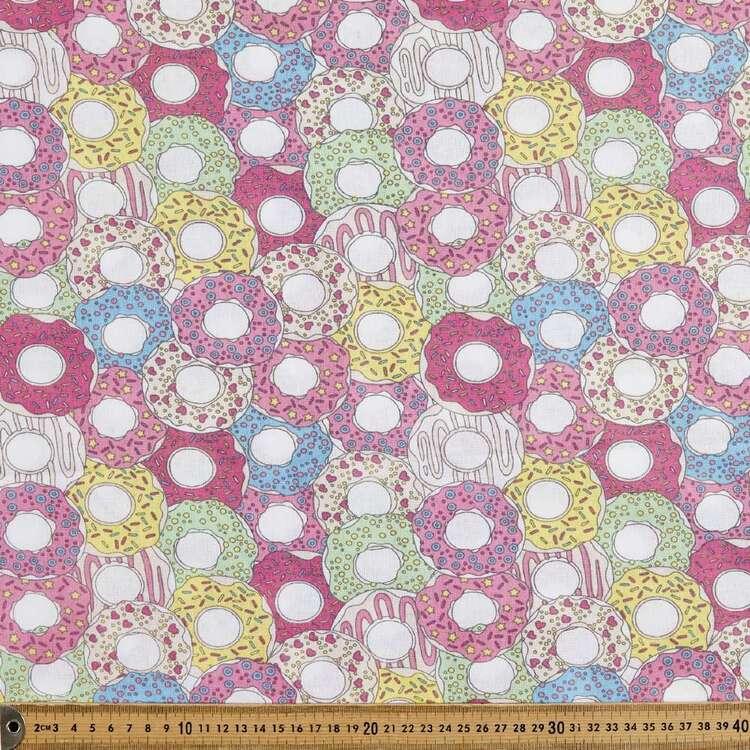 Donuts 120 cm Multipurpose Cotton Fabric