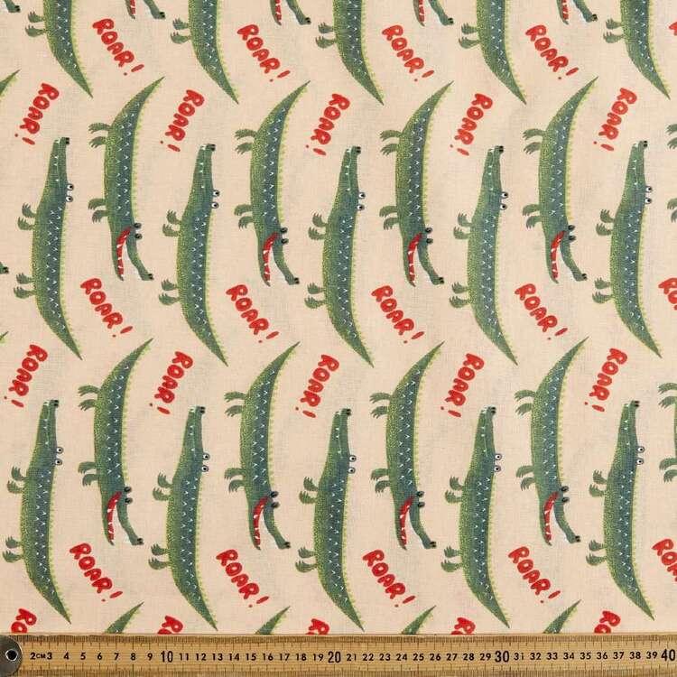 Roar 120 cm Multipurpose Cotton Fabric