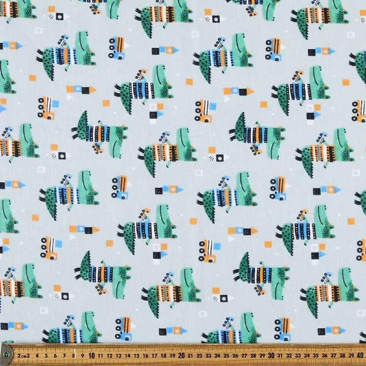 Crocodile 120 cm Multipurpose Cotton Fabric