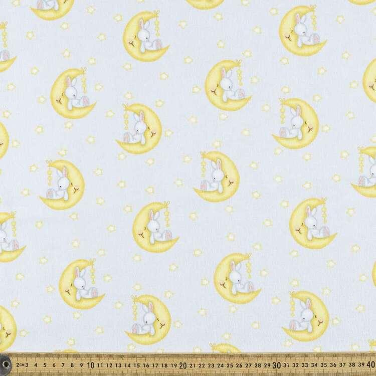 Moon Spoon Printed 112 cm Flannelette Fabric