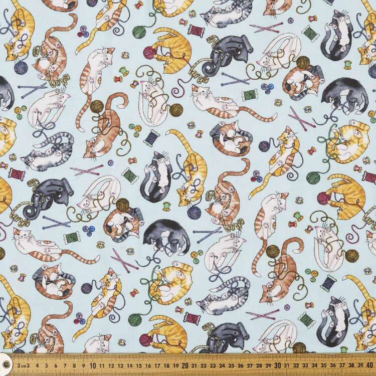 Playtime Printed 112 cm Cotton Flannelette Fabric