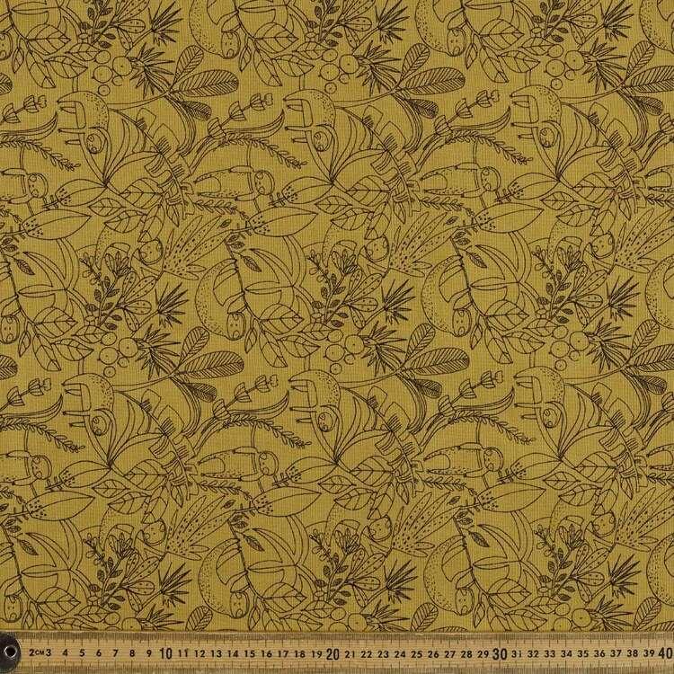 Hanging Printed 123 cm Buzoku Cotton Duck Fabric