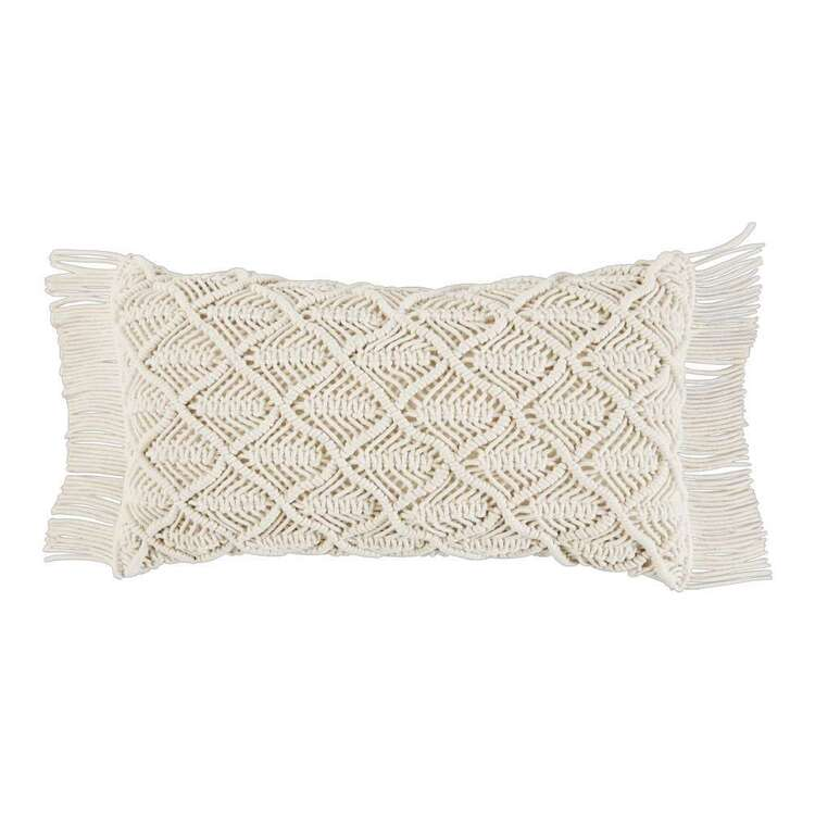 Ombre Home Wild Flower Macrame Cushion