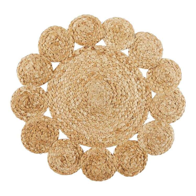 Ombre Home Wildflower Jute Placemat