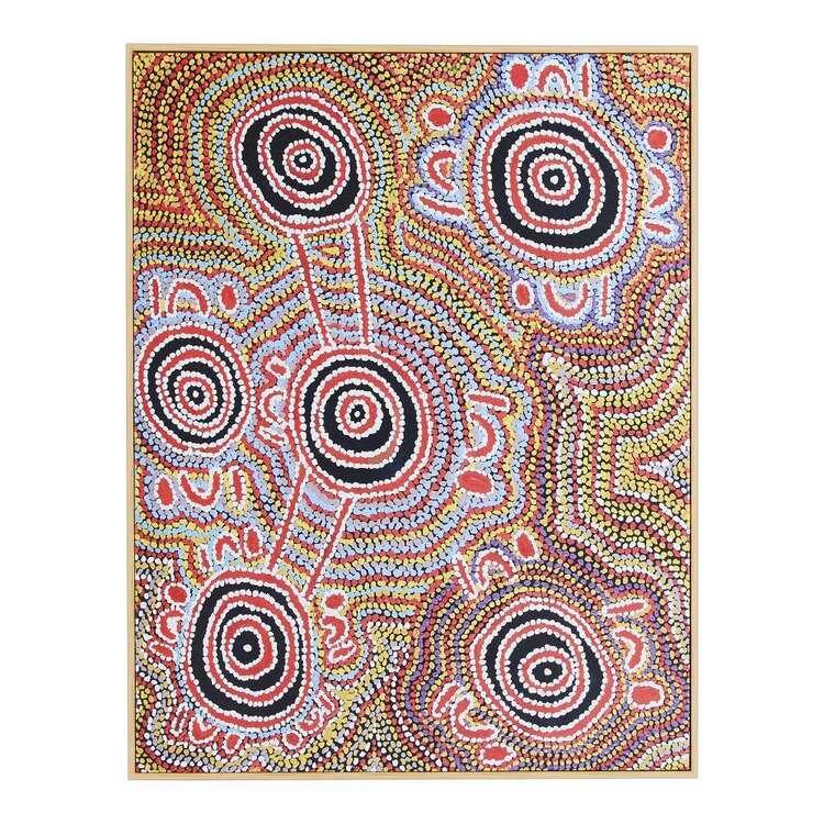 Warlu Mina Dreaming #2 Framed Print