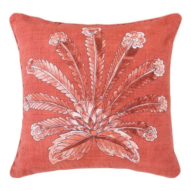 Ombre Home Wild Flower Flower Fan Cushion