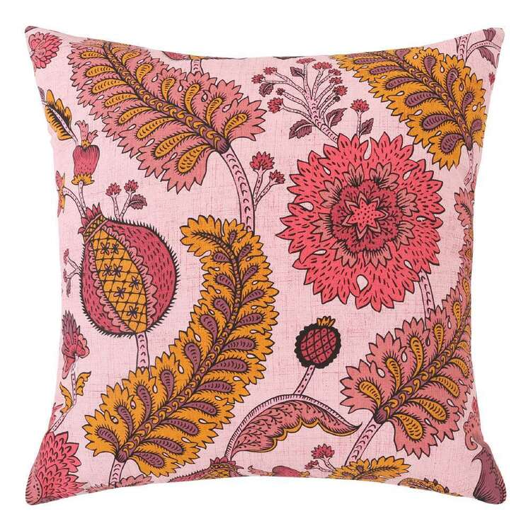 Ombre Home Wild Flower Floral Vine Cushion