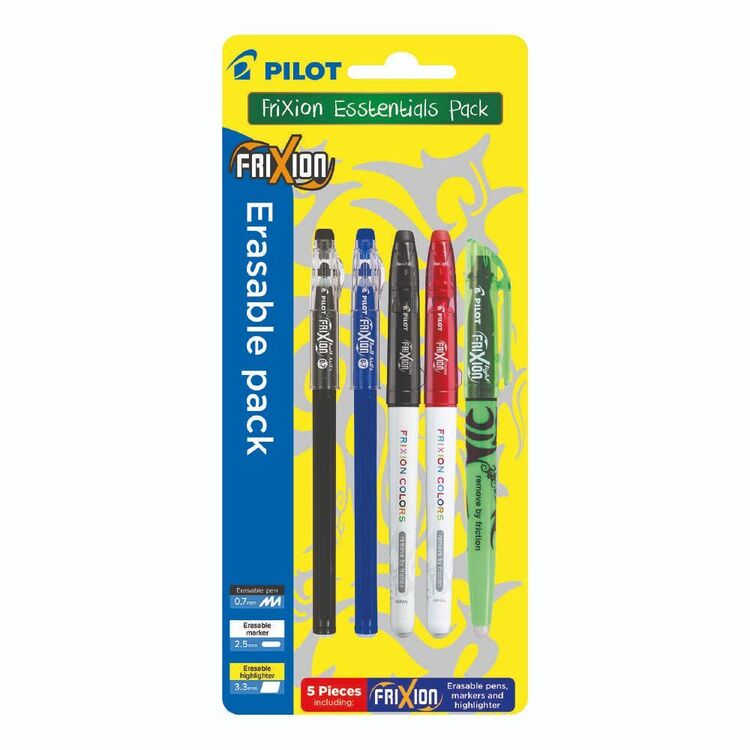 Pilot Frixion Essential Erasable Pack