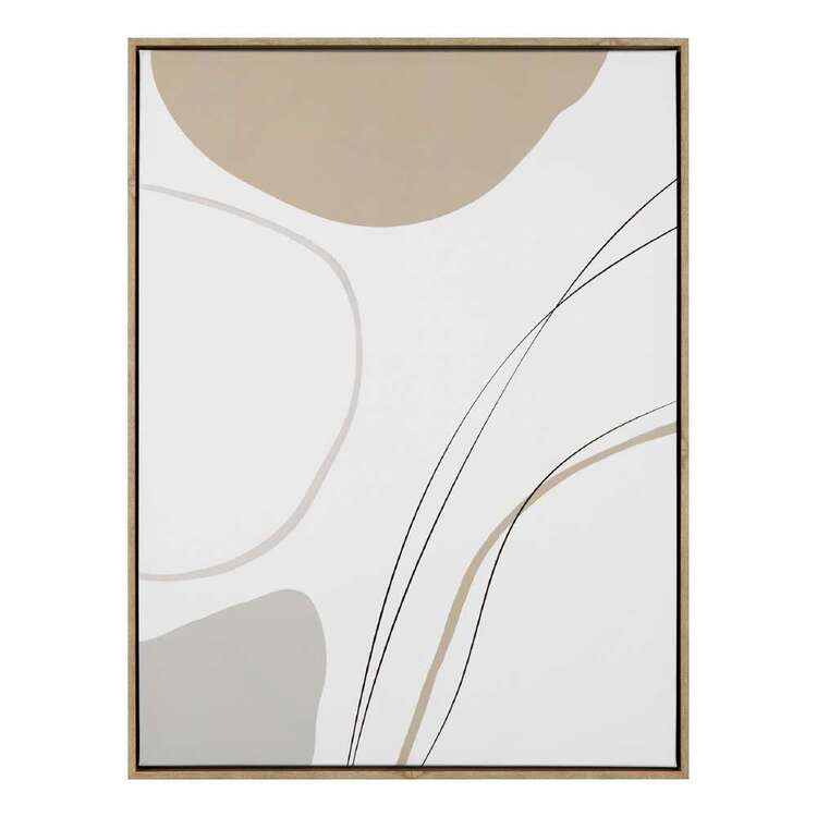 Bouclair Contemporary Organic Abstract Wall Art