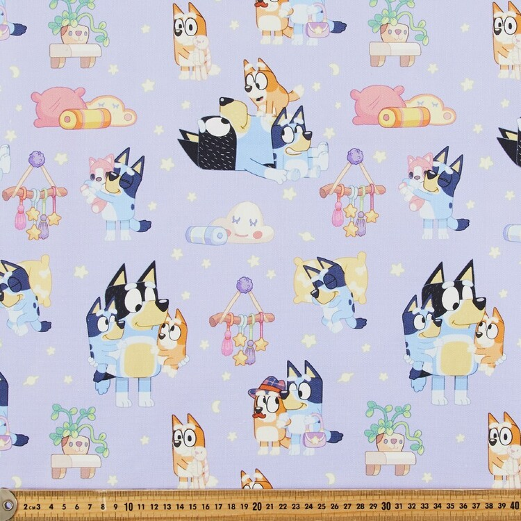 Bluey Sweet Dream Printed Cotton Canvas