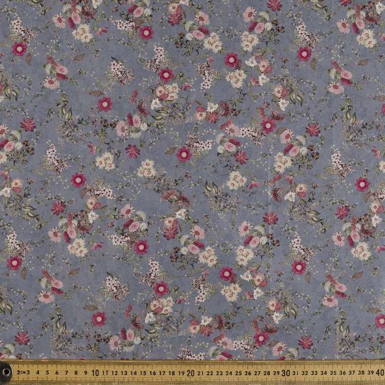 Daisy & Co Printed 142 cm Sateen Fabric