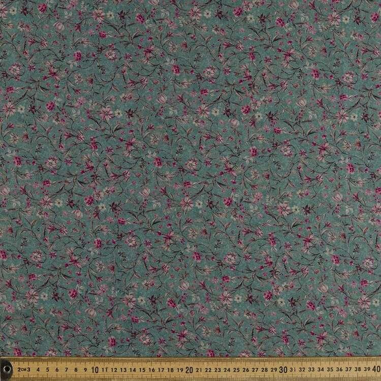 Devne Printed 142 cm Sateen Fabric