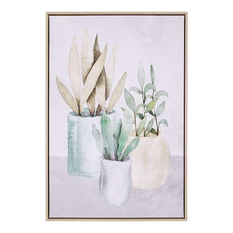 Cooper & Co Botanicals #2 Framed Canvas