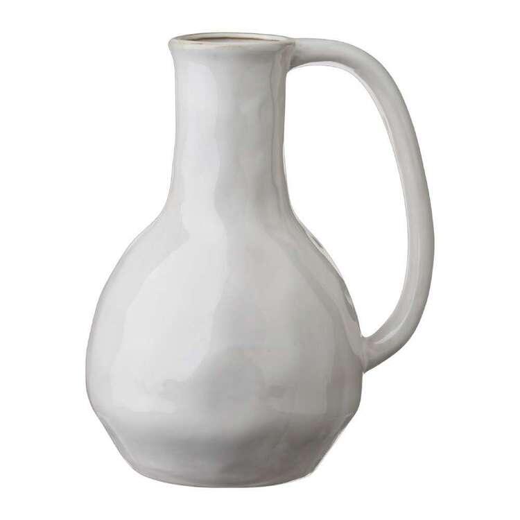 Living Space Winter Coastal 18 x 23 cm Ceramic Vase