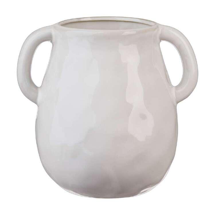 Living Space Winter Coastal 14 x 16 cm Ceramic Vase