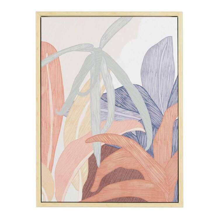 Tropic Framed Canvas Print