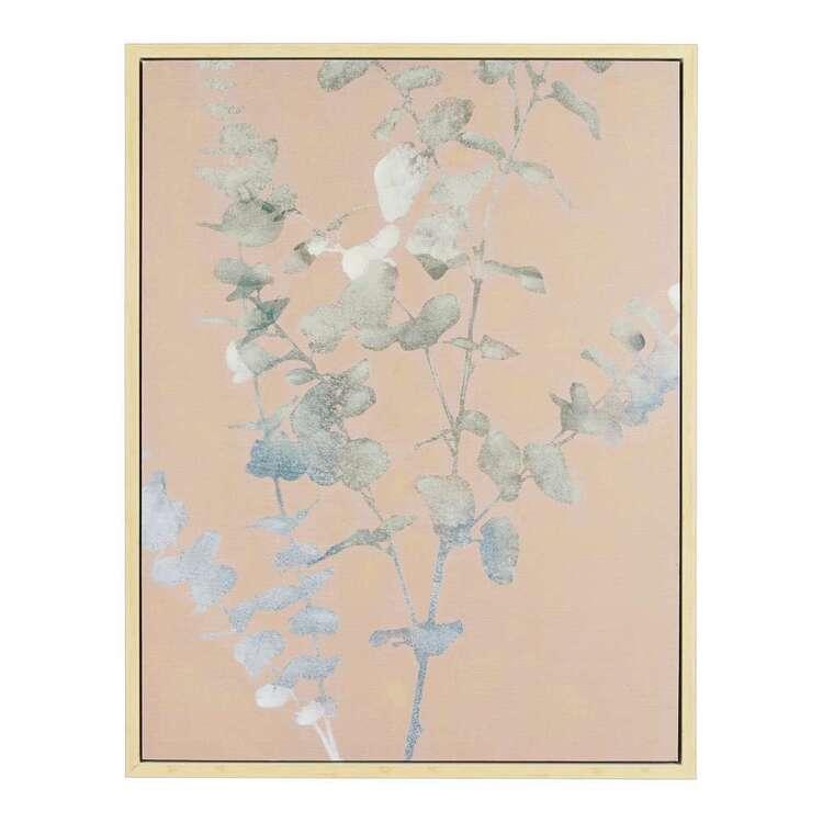 Native Framed Canvas Print