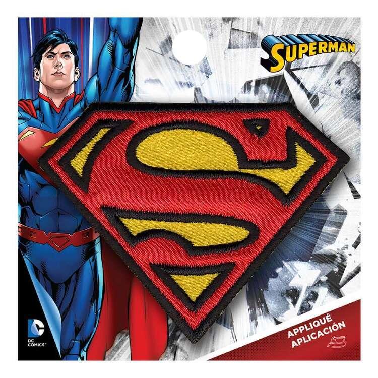 DC Comics Applique Mini Superman Logo Motif