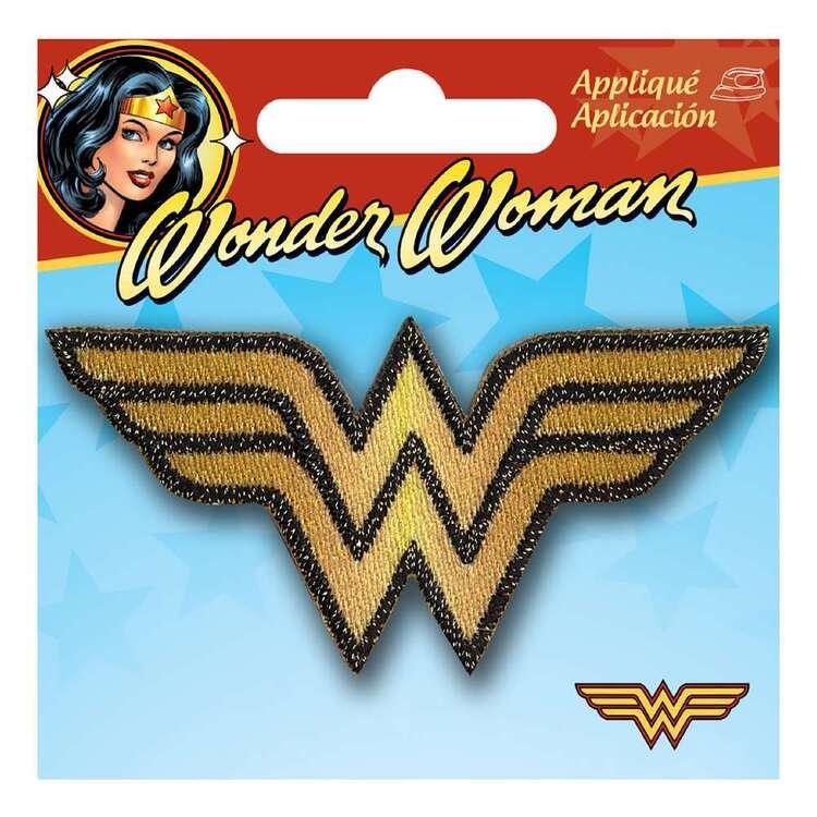 DC Comics Applique Mini Wonder Woman Logo Motif