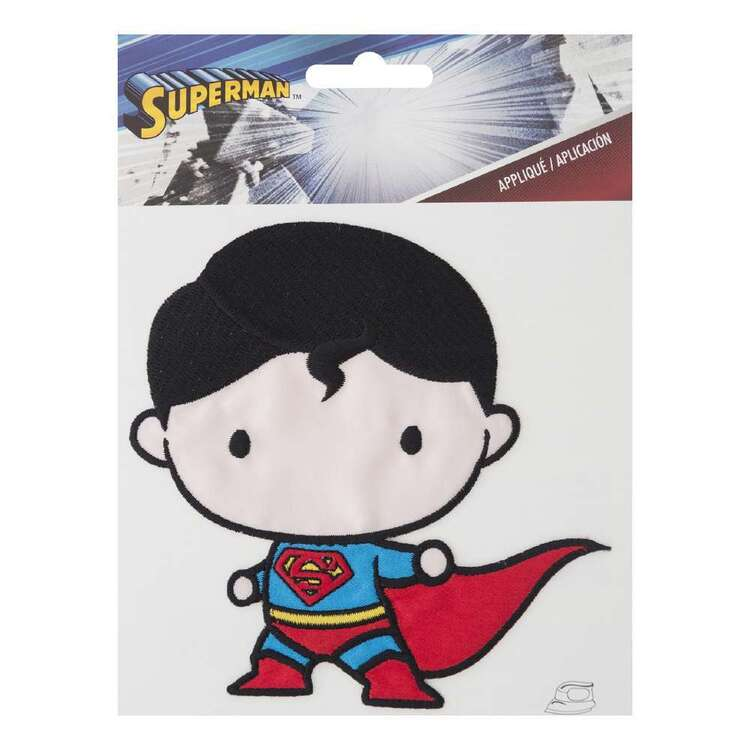 DC Comics Large Superman Character Motif